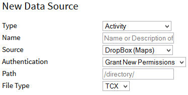 Configuring Map Sources