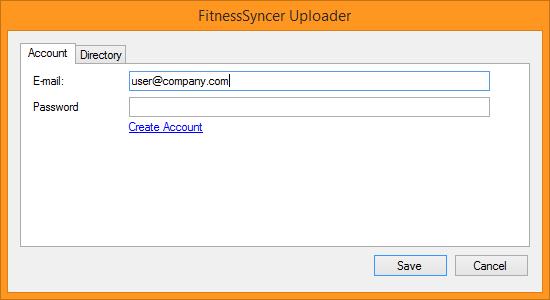 FitnessSyncer Uploader