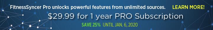 FitnessSyncer Pro Sale: 25% Off