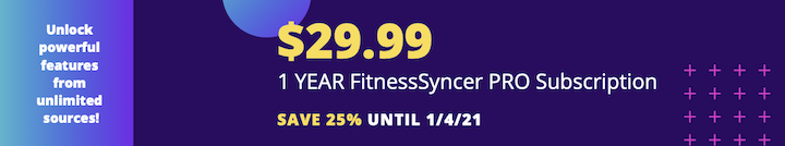 FitnessSyncer Pro Sale: 25% Off